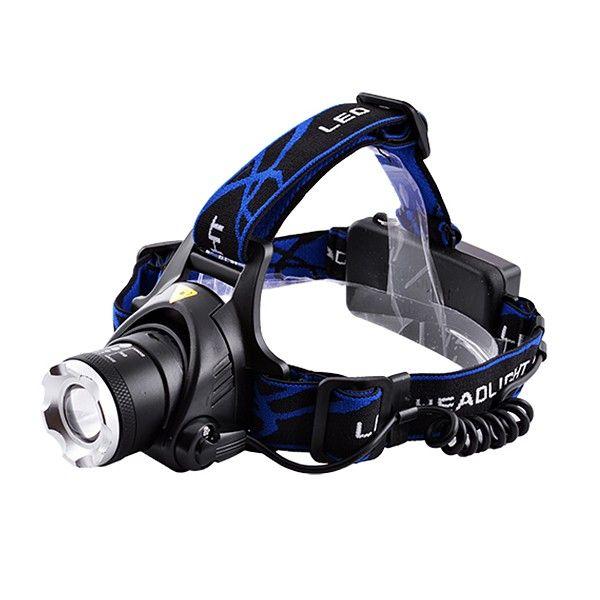 Ультрафиолетовый фонарь на лоб Police 204C-UV